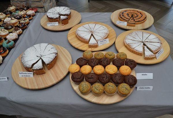 PIP Karavan izloženi kolači