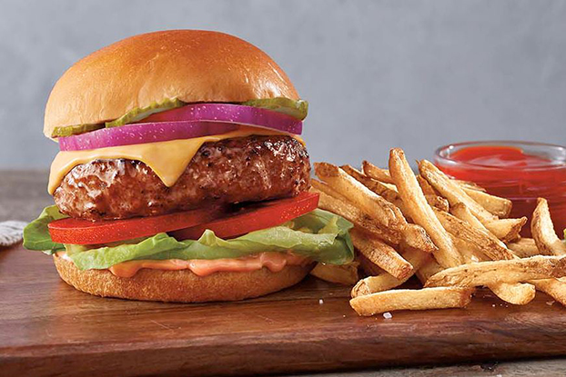 metro biljni burger