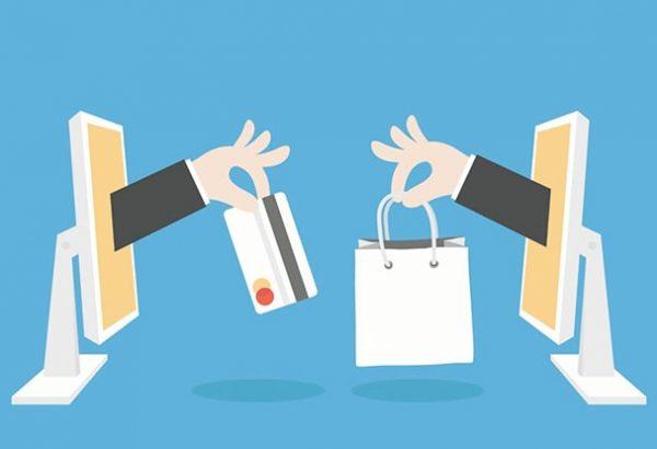 online shoping ilustracija